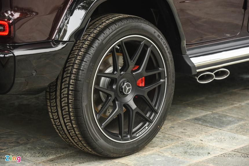 chi tiet Mercedes-AMG G 63 mau doc anh 7