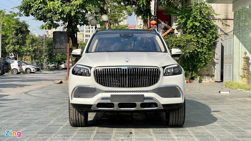 Range Rover va Mercedes-Maybach GLS anh 7