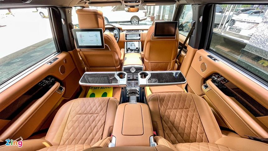 Range Rover va Mercedes-Maybach GLS anh 12